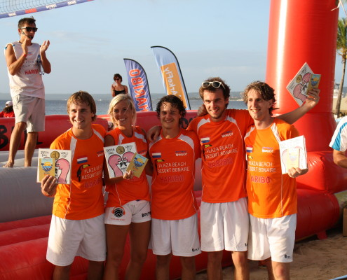 WK Bossaball Nederlands team